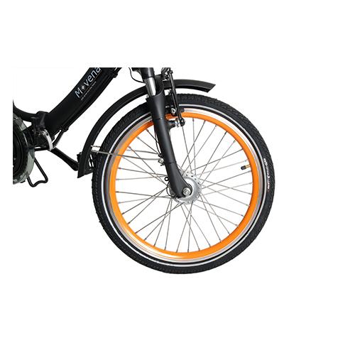 20 Zoll E-Bike Movena AFH20 Elektrofahrrad Klappräder Das Trendige detail