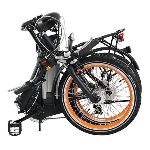 20 Zoll E-Bike Movena AFH20 Elektrofahrrad Klappräder Das Trendige zusammengeklappt